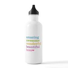 Cute Best boss Water Bottle