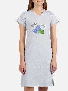 Rawr Dinosaur Women's Nightshirt
