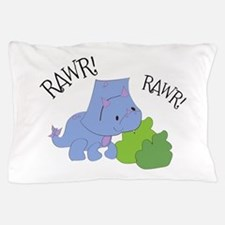 Rawr Dinosaur Pillow Case
