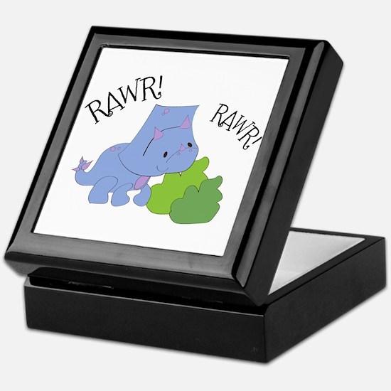 Rawr Dinosaur Keepsake Box