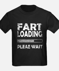 FART LOADING PLEASE WAI T-Shirt