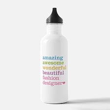 Unique Worlds greatest fashion designer Water Bottle