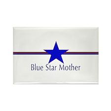 Cute Blue star families Rectangle Magnet