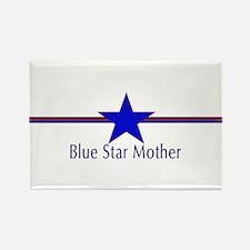 Unique Blue star Rectangle Magnet