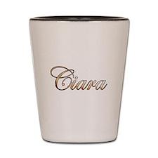 Gold Ciara Shot Glass