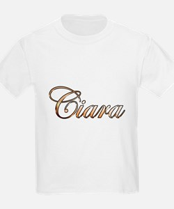 Gold Ciara T-Shirt