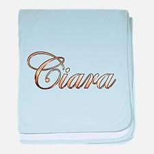 Cute Ciara baby blanket