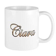 Gold Ciara Mugs