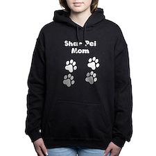 Shar Pei Mom Women's Hooded Sweatshirt