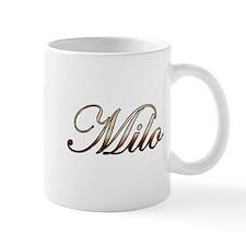 Gold Milo Mugs