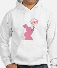 Bunny And Flower Hoodie