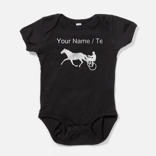 Custom Harness Racing Baby Bodysuit