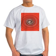 Bright Red Spiral T-Shirt