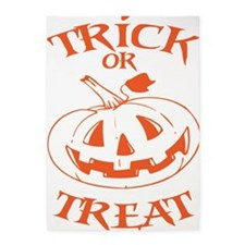 Trick Or Treat Jack O Lantern 5'x7'Area Rug