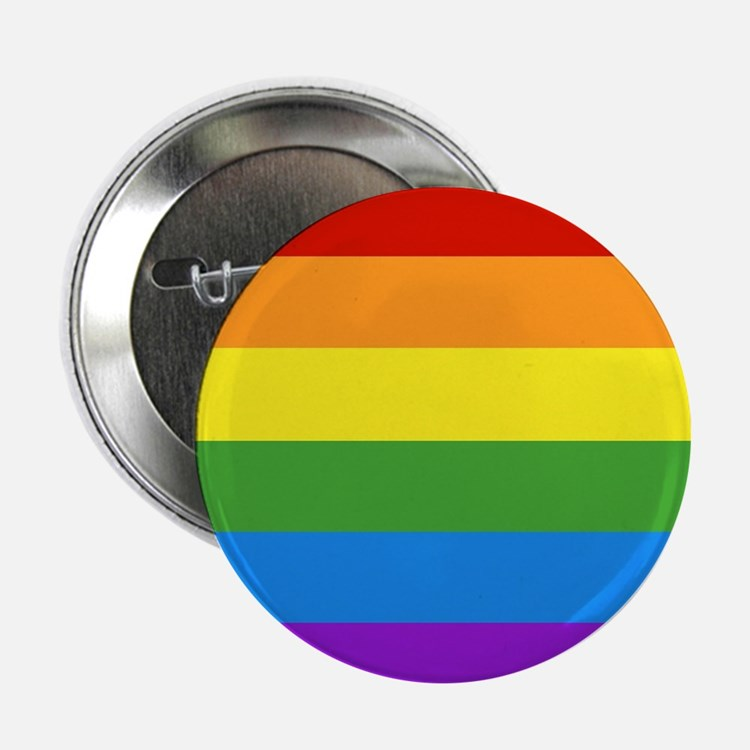 """Cute Gay pride 2.25"""" Button (100 pack)"""