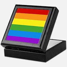 Cute Gay pride Keepsake Box