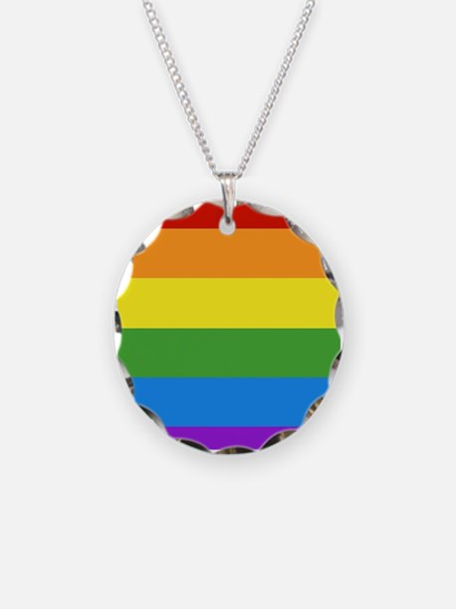 Cute Gay pride Necklace