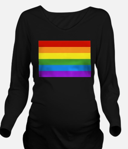 Unique Brights Long Sleeve Maternity T-Shirt