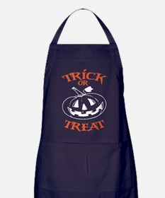 Trick Or Treat Jack O Lantern Apron (dark)