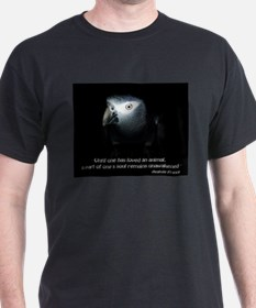 Timneh African Grey with Quote T-Shirt