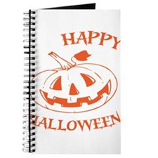 Happy Jack O Lantern Halloween Journal