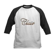 Gold Clair Baseball Jersey