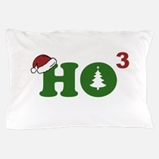 Ho Cubed Merry Christmas Pillow Case