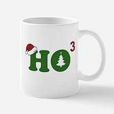 Ho Cubed Merry Christmas Mugs