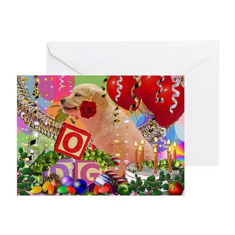 Golden Retriever Seasonal Greeting Cards (6)