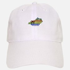 Kentucky . . . The Bluegrass Baseball Baseball Cap