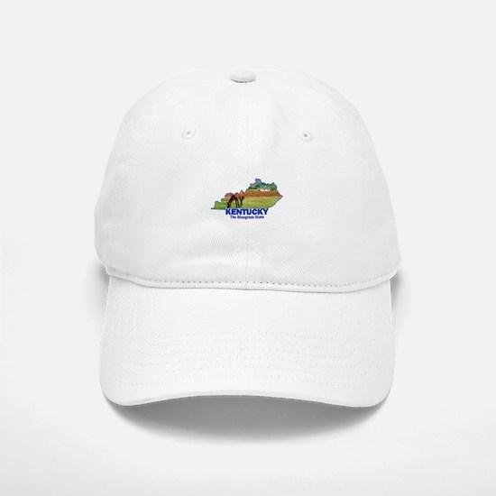 Kentucky . . . The Bluegrass Baseball Baseball Cap