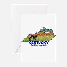 Kentucky . . . The Bluegrass Greeting Cards (Pack