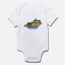 Kentucky . . . The Bluegrass Infant Bodysuit