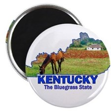 Kentucky . . . The Bluegrass Magnet
