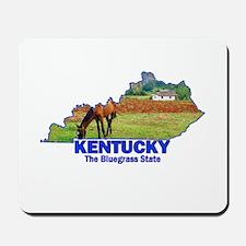 Kentucky . . . The Bluegrass Mousepad