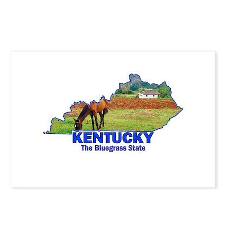 Kentucky . . . The Bluegrass Postcards (Package o