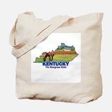 Kentucky . . . The Bluegrass Tote Bag