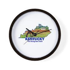 Kentucky . . . The Bluegrass Wall Clock