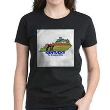 Kentucky . . . The Bluegrass Tee