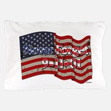 911 Never Forget American Flag Pillow Case