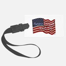 911 Never Forget American Flag Luggage Tag