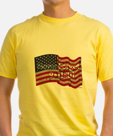 911 Never Forget American Flag T