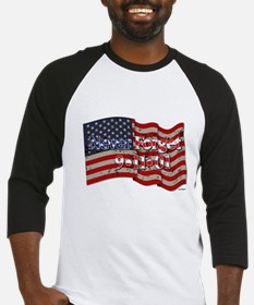 911 Never Forget American Flag Baseball Jersey