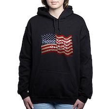 911 Never Forget America Women's Hooded Sweatshirt