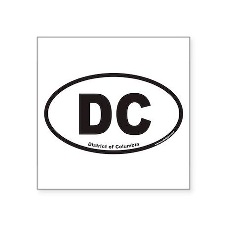 DCovals2007cp Sticker