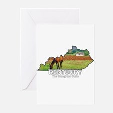 Kentucky . . . The Bluegrass Greeting Cards (Pack