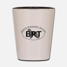BLACK RUSSIAN TERRIER Shot Glass