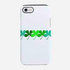 Irish 4 Leaf Clovers for Paul iPhone 7 Tough Case