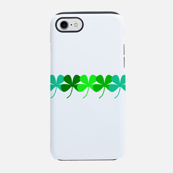 Irish 4 Leaf Clovers for Paul iPhone 7 Tough Case