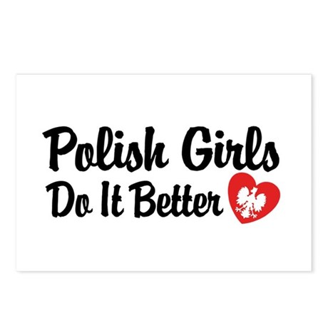 Polish Girls Do It Better Postcards (Package of 8)